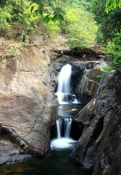 Thanmayom Waterfall - Koh Chang,Thailand