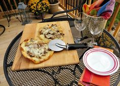 Back Porch Musings~Flatbread Pizza