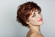 Short Hairstyles For Thin Curly Hair -1 2015 Short Pixie Hairstyles Wavy Hair