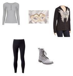 """""""Female Warrior Outfit 4"""" by lydigrace on Polyvore featuring Jockey, Steve Madden, Bus Stop and plus size clothing"""