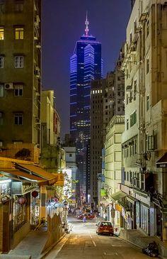 Wan Chai street #HongKong