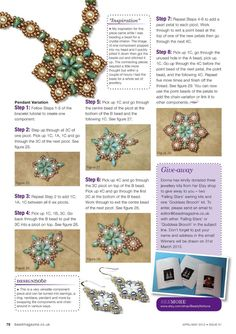 Petals and Pearls - 5/5 - Beading necklaces