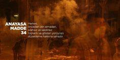 #occupygezi #direngeziparki anayasa madde 34