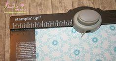 Teelicht Schachtel mit dem Envelope Punch Board - Anleitung - Blumis kreativ Blog