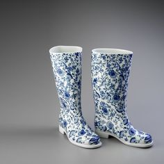 Rubber Rain Boots, Artworks, Artisan, Europe, Contemporary, Shoes, Design, Fashion, Moda