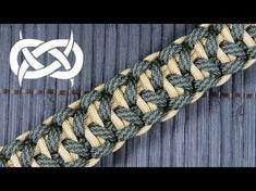 How to make the I-Tie Solomon Bar Paracord Bracelet - YouTube