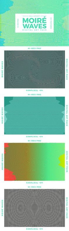 Moir� Waves - Graphics - YouWorkForThem