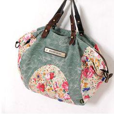 MIDOU - Canvas Bag - Flower Blooming