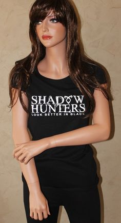 Mortal Instruments Shadowhunters Fitted Shirt