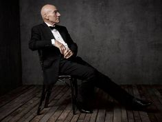 Sir Patrick Stewart - Beautiful Portraits Of Celebrities At Vanity Fair's White House After-Party