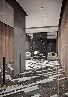 Luxurious modern apartment / HALL