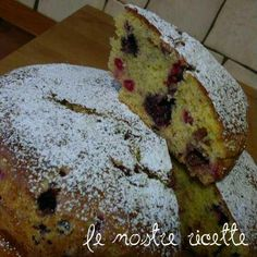 torta soffice ai frutti di bosco