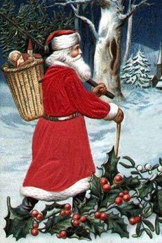France: Pere Noel.  In France the children place there shoes by the fire place in hopes that le Pere Noel/Father Christmas of le Petit Jesus/Little Jesus will place gifts for them. They also have dinner at midnight on December 24 this is called Le Reveillon. @Kevin Heilbronn