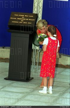 July Diana, Princess of Wales during a visit to the Northwick Park Hospital in Harrow, London, where she unveiled a foundation stone for the children's casualty department. Princess Diana And Charles, Princess Of Wales, Princess Diana Pictures, Camilla Parker Bowles, Real Princess, English Royalty, Lady Diana Spencer, Happy Marriage, Queen Of Hearts
