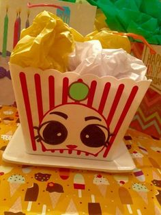 Shopkins decor from the dollar store