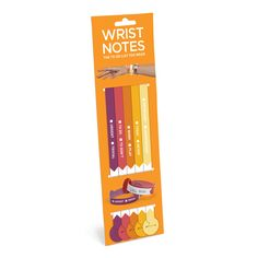 Friendly Reminder Wrist Notes by Knock Knock
