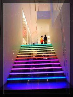 デザインが独創的な階段