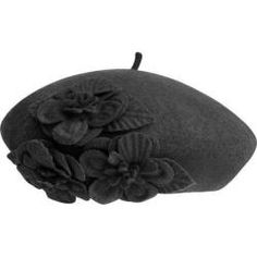 Shop for Women's Betmar Flower Beret Black. Free Shipping on orders over $45 at Overstock.com - Your Online Accessories Outlet Store! Get 5% in rewards with Club O!