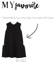 """""""53"""" by fashion-is-my-passion-14 ❤ liked on Polyvore featuring Roksanda"""