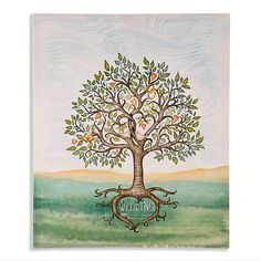 Our Wedding Signing Tree Wall Print- unique substitution for a guest book- AND you can hang it on your wall!