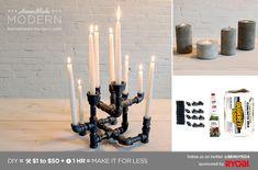HomeMade Modern DIY EP10 Modern Candleholders Postcard