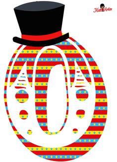 SGBlogosfera. María José Argüeso: LETRAS DE CIRCO Dumbo Birthday Party, Carnival Birthday Parties, Circus Birthday, Clown Party, Circus Theme Party, Party Themes, Candyland, Carnival Classroom, Circus Baby