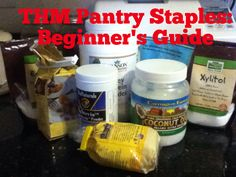 Basic THM Pantry Staples to Have on Hand: Beginners Guide -