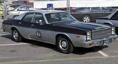 CLASSIC North Carolina State Highway Patrol car
