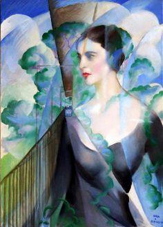 Giacomo Balla - Ritratto di Benedetta Marinetti, 1951