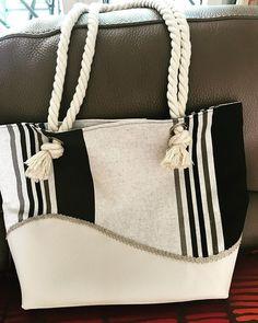 cecile_aux_fils Un sac pour la plage.. ou pour la ville.. #coutureaddict #passioncouture #sacsamba #sacfaitmain #sacotin #madewithlove#handmade#saccabas #cestmoiquilaifait