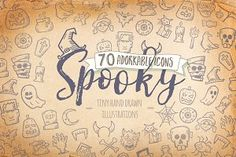 Ad: Halloween-Spooky-Icons by Good Stuff No Nonsense on Looking for some spooky yet funny illustrations? Spooky Icons are the perfect addition to your designs. From scary eyes, spooky characters Halloween Icons, Halloween Photos, Diy Halloween, Halloween Decorations, Monster Decorations, All Icon, Icon Set, Halloween Invitation Template, Scary Eyes