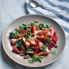 Strawberry, Burrata and Basil Salad: I Like How She