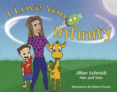 Kids will enjoy I Love You Infinity, especially if they are into science or the planets. Anyone can make this book work into a fun, giggle-fest, ending in a series of hugs and kisses goodnight. Boys in particular will enjoy this picture book,