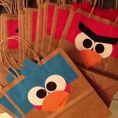 Angry birds sacola de lembrança!
