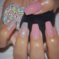 30 Best Pink Nails! View them all right here -> | http://www.nailmypolish.com/pink-nails/ | @nailmypolish