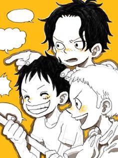 Ace - Luffy - Sabo