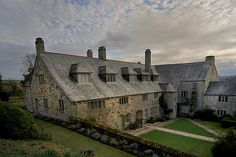 Elizabethan manor house, Trerice, Cornwall