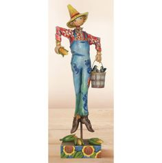 Scarecrow with Bucket