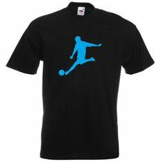 Men's Cotton Black T Shirts No Pattern Football Print Tee World Cup 2014, Green Print, Printed Tees, Polo Ralph Lauren, Football, Man Shop, Pattern, Mens Tops, Cotton