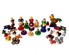 Full Agricola Set of Handmade Pieces by epicycledesigns on Etsy, $390.00