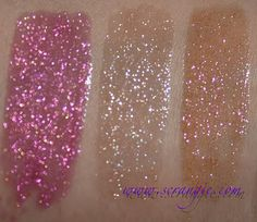 Urban Decay Stardust Sparkling Lipgloss - Glitter Rock, Space Cowboy, & Andromeda / Scrangie