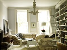 Homes: Russain House: Living room