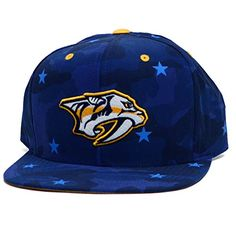 845a118b038 Nashville Predators Camouflage Caps Hockey Hats