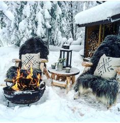 Winter Cabin, Cozy Cabin, Winter Scenery, Cabins In The Woods, Winter Garden, Winter Christmas, Xmas, Holiday, Winter Time