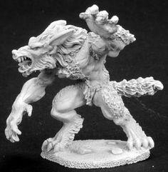 Dark Heaven Legends (Werewolf 2747) This Dark Heaven Legends model by Reaper comes unpainted and...