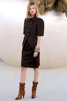 Chanel Fall 2010 Couture Fashion Show - Kasia Struss (Women)