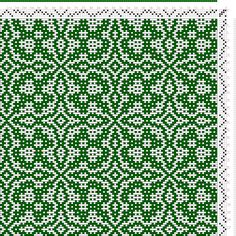 draft image: Threading Draft from Divisional Profile, Tieup: Crackle Design Project, Draft #13289, 4S, 4T