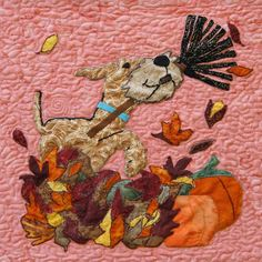 Airedale Rescue Quilting Bee: OCTOBER BLOCK