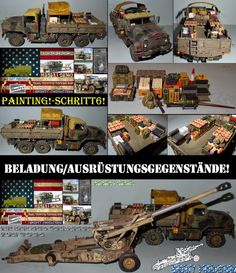 Shorty-Production: Workbench-M923A1 USMC-Painting!-Schritt6!