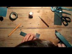 (22) Pluma caligráfica casera - YouTube